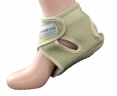 Heelinator wrap for plantar fasciitis and heel pain