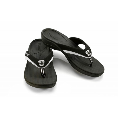 Powerstep Fusion sandals for men in black