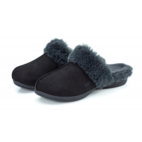 Powerstep luxe slippers for women with orthotic arch support