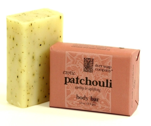 Exotic Patchouli Bar Soap by River Soap Company