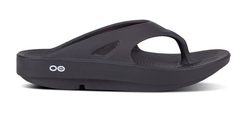 Oofos ooriginal black sandal