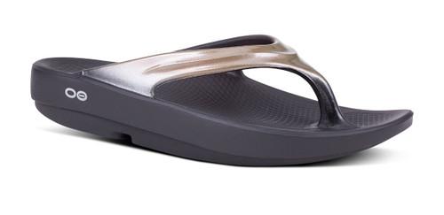 Oofos OOlala Luxe Women's Sandal - Latte