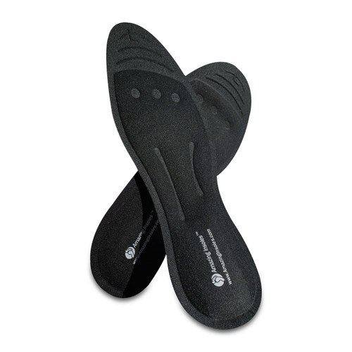 Shoe insoles for plantar fasciitis and heel pain