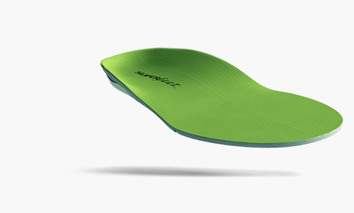 SuperFeet GREEN WIDE Insoles Med To High Arch Support