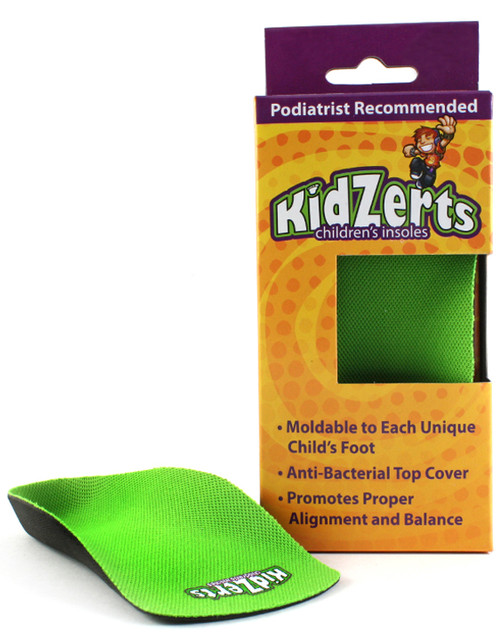 KidZerts Children's 3/4 Length Arch Support Insoles