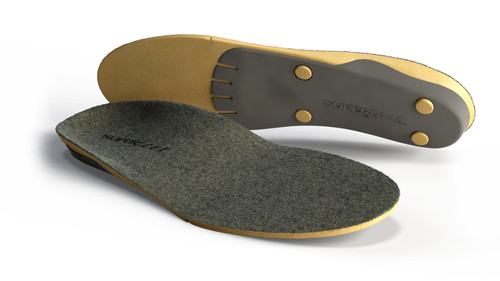 Superfeet Merino grey orthotics