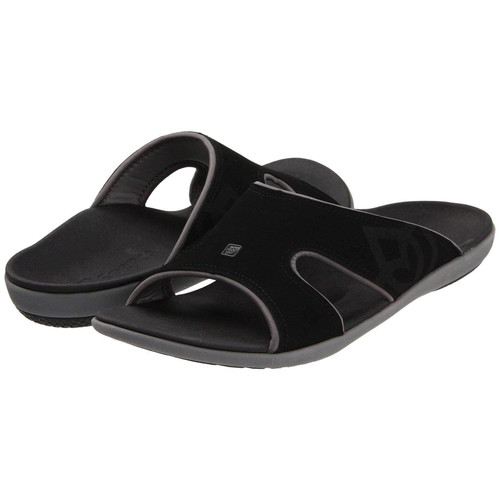 Spenco Kholo Men's Orthotic Slide Sandals Carbon Pewter