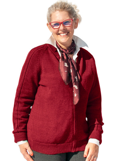 Mister Rogers Double Cable Zip Cardigan Sweater By Inca Fashions For Mister Rogers Neighborhood Sun Valley Alpaca Co