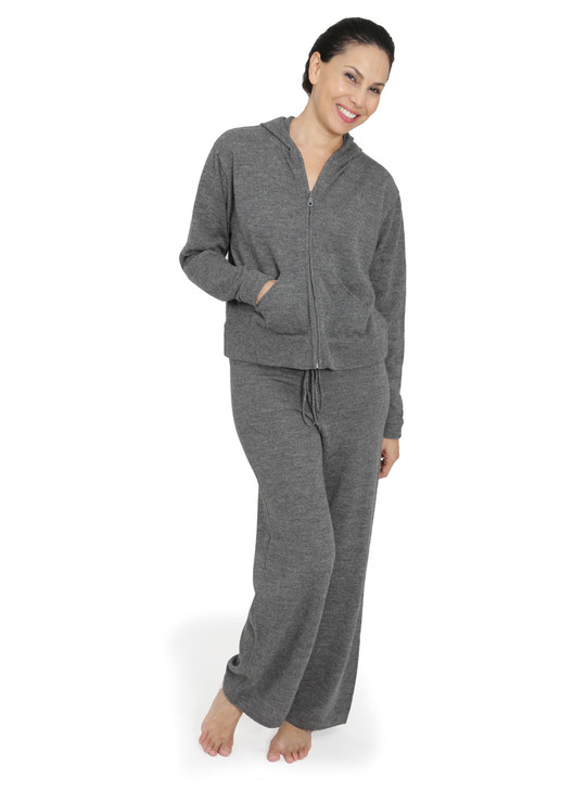 Treall Baby Alpaca Sweat Suit Full Size Front View