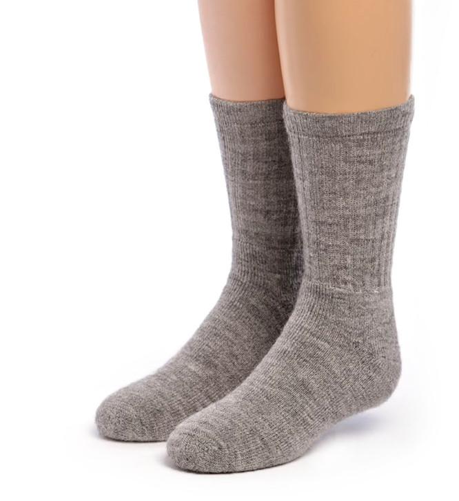 Kid's Outdoor Alpaca Socks Front