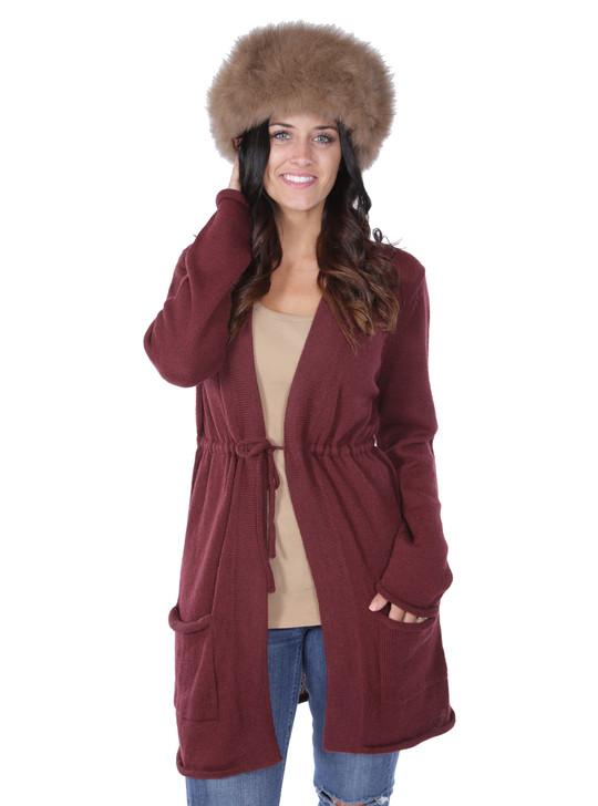 New North Ridge Women's Fur Lined Inca Hat