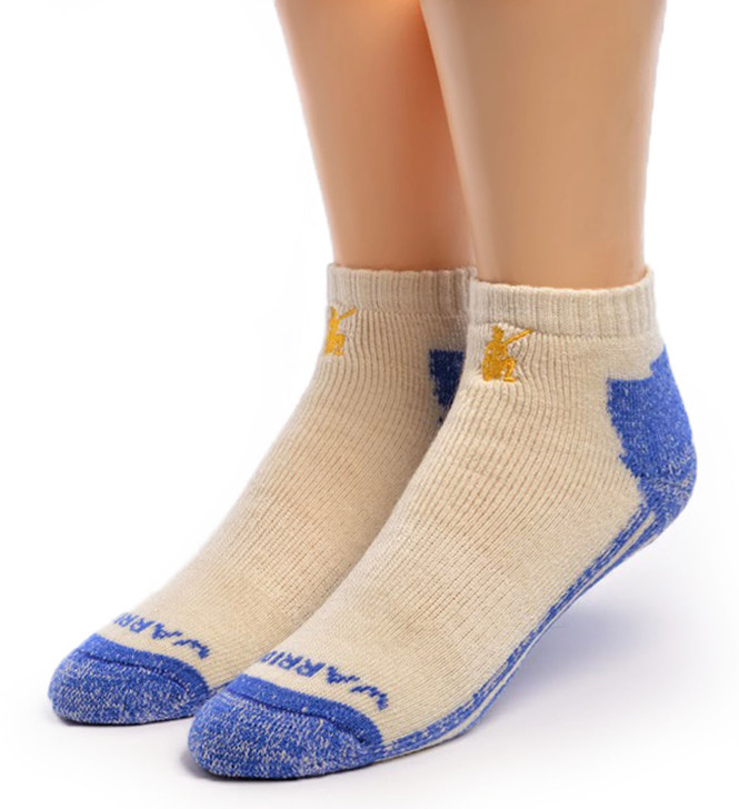 High Performance Alpaca Shorty Sport Sock Front
