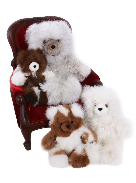 "Alpaca Fur Teddy Bears Classic sizes 10"", 12"" 16"" & 18"""