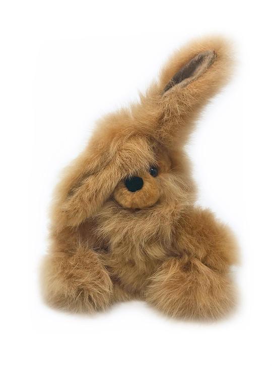 Floppy Eared Alpaca Wool Bunny Rabbit