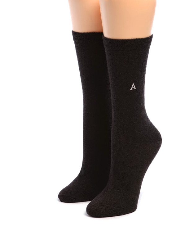Women's Trouser Alpaca Socks Front