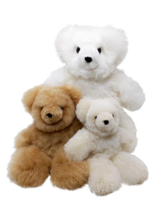 Spirit Bears Alpaca Fur Plush Stuffed Animals by Inca Brands Main
