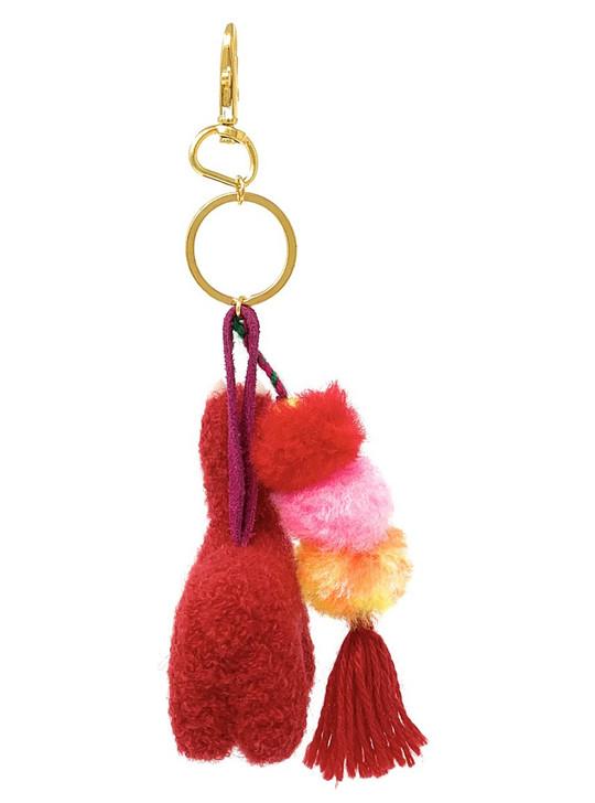 Gifts for Her Pom Pom Backpack Charm for Kids Alpaca Fur Keychain Super Soft