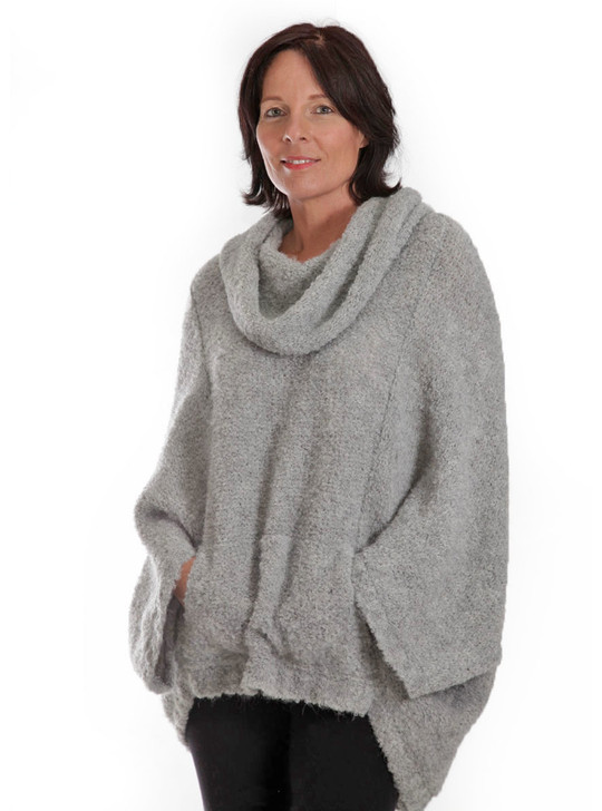 Boucle Mission Alpaca Cocoon Front look 1