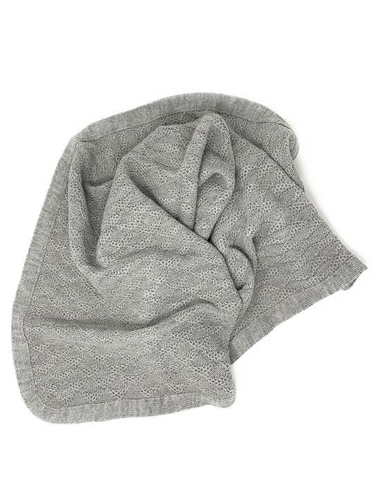 Baby Blanket - Lap Throw  in 100% Baby Alpaca Wool Main