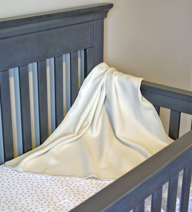 Crib Size Baby Blanket in Crib