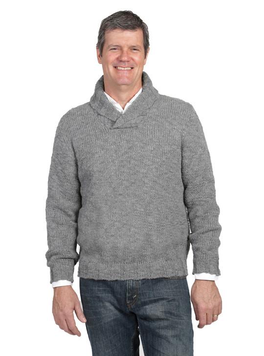 Brooklyn Alpaca & Wool Pullover Sweater Front