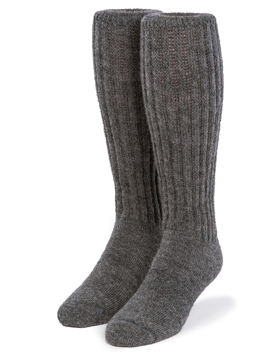 Second to None - Thick 100% Alpaca Wool Boot Socks  Front