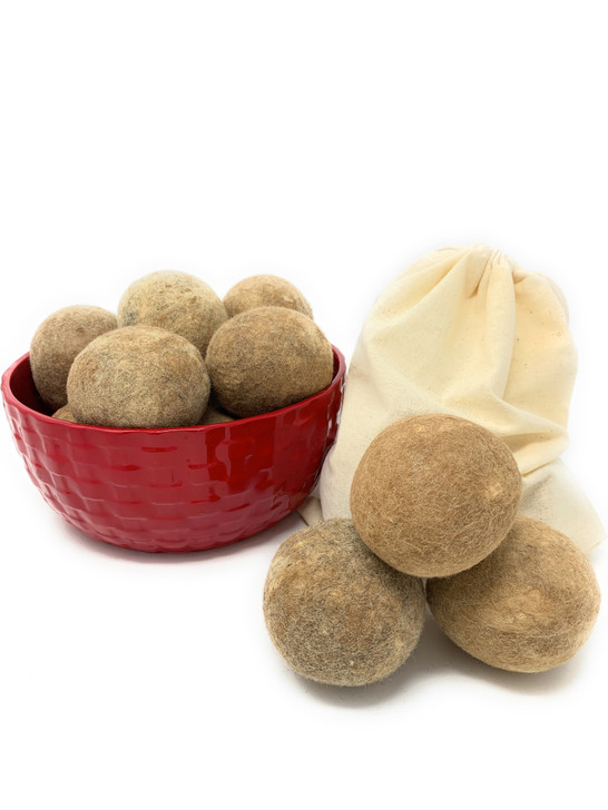 100% Alpaca Wool Dryer Balls - Main