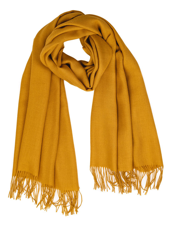 Armory 100% Baby Alpaca Wool Oversize Scarf, Shawl & Wrap Looped