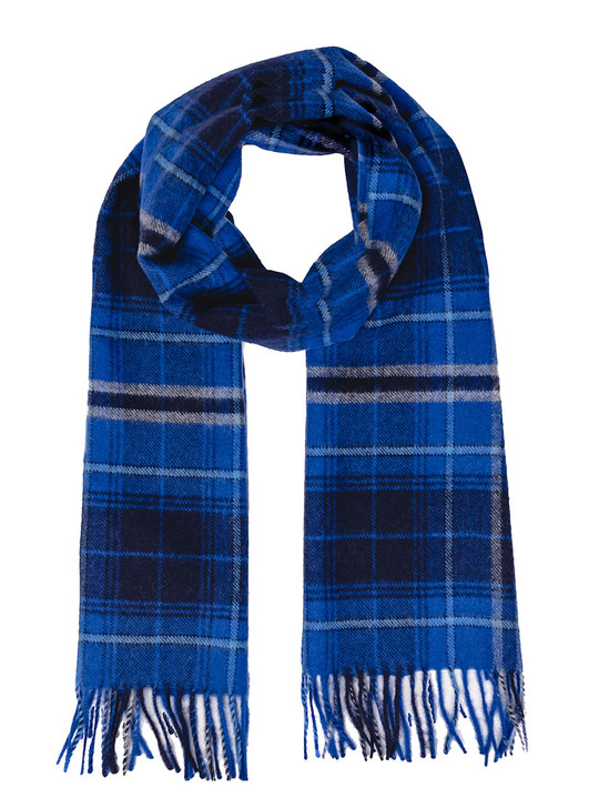 Scotch Plaid 100% Baby Alpaca Scarf