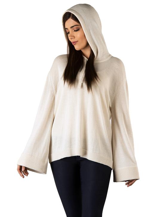 Carissa Baby Royal Alpaca Knit Hoodie - Dye-free Main