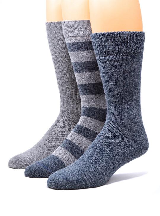 Warrior Alpaca Socks Men's Cozy Work From Home Socks Set