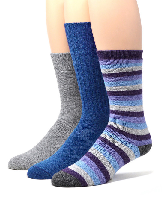 Warrior Alpaca Socks Women's Cozy Work From Home Socks Set