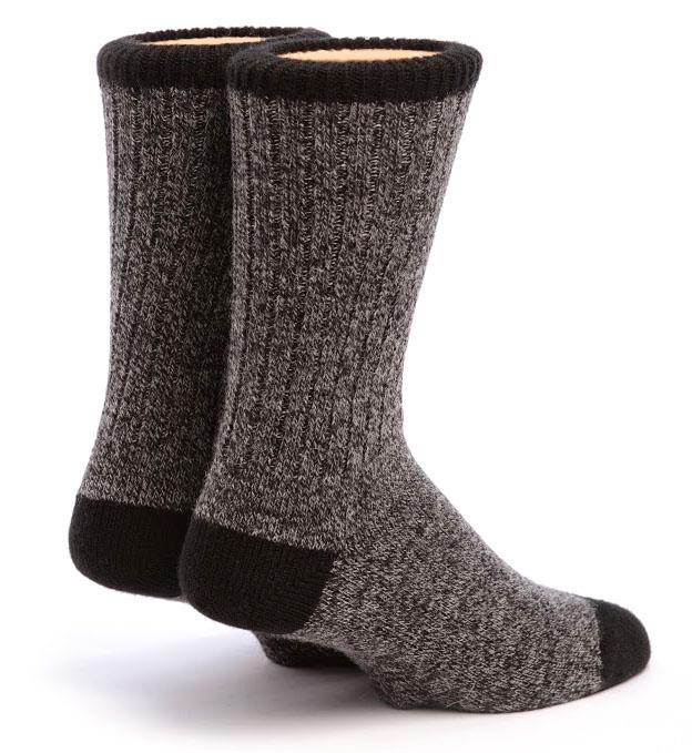 Base Camp Alpaca Socks Back