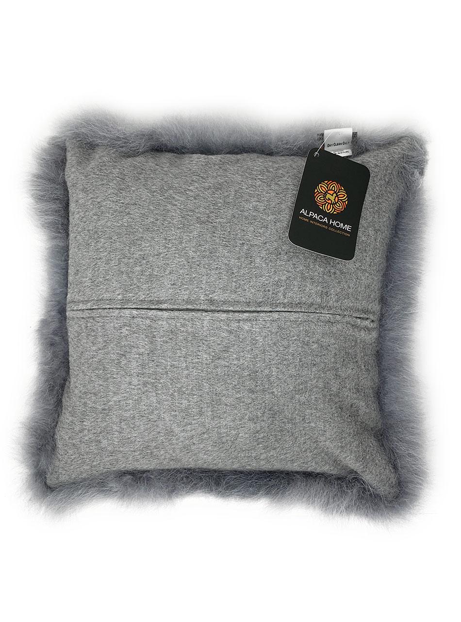 Alpaca Fur Pillow Covers Hidden Zipper