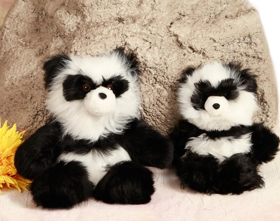 Baby Alpaca Fur Teddy Bears Panda Bear Sun Valley Alpaca Co