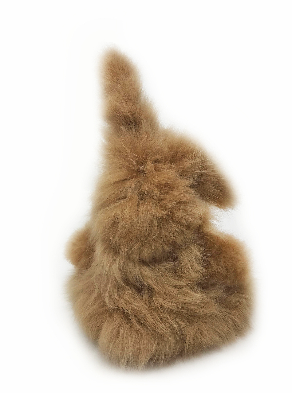 Alpaca Wool Easter Bunny Stuffed Animal Better Than The Velveteen