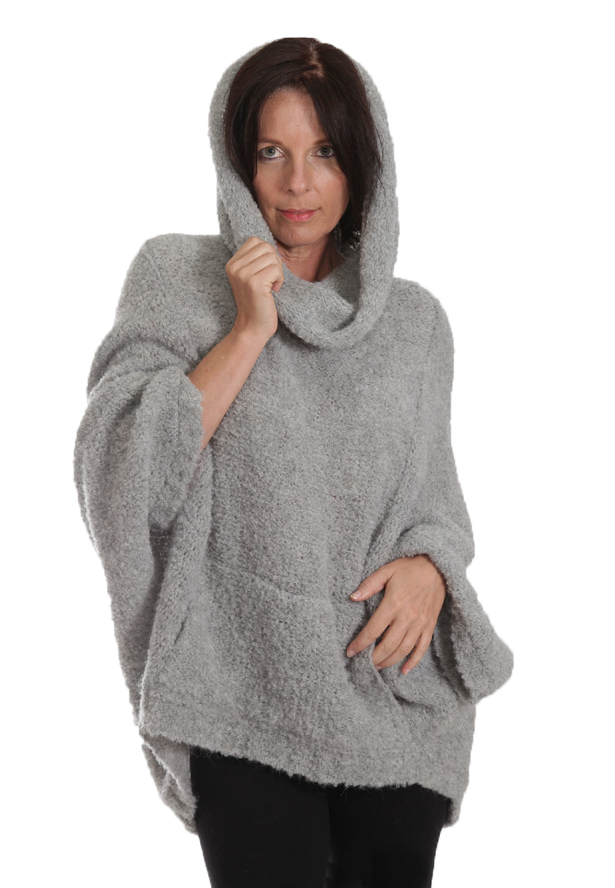 Boucle Mission Alpaca Cocoon Front look 3