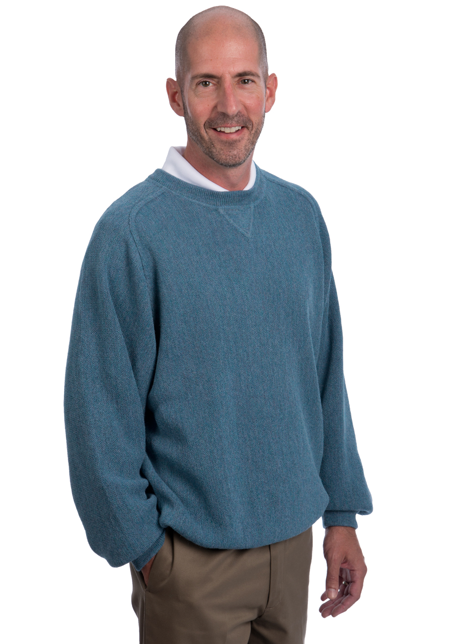 Alpaca Sweatshirt & Golf Sweater -Alternate