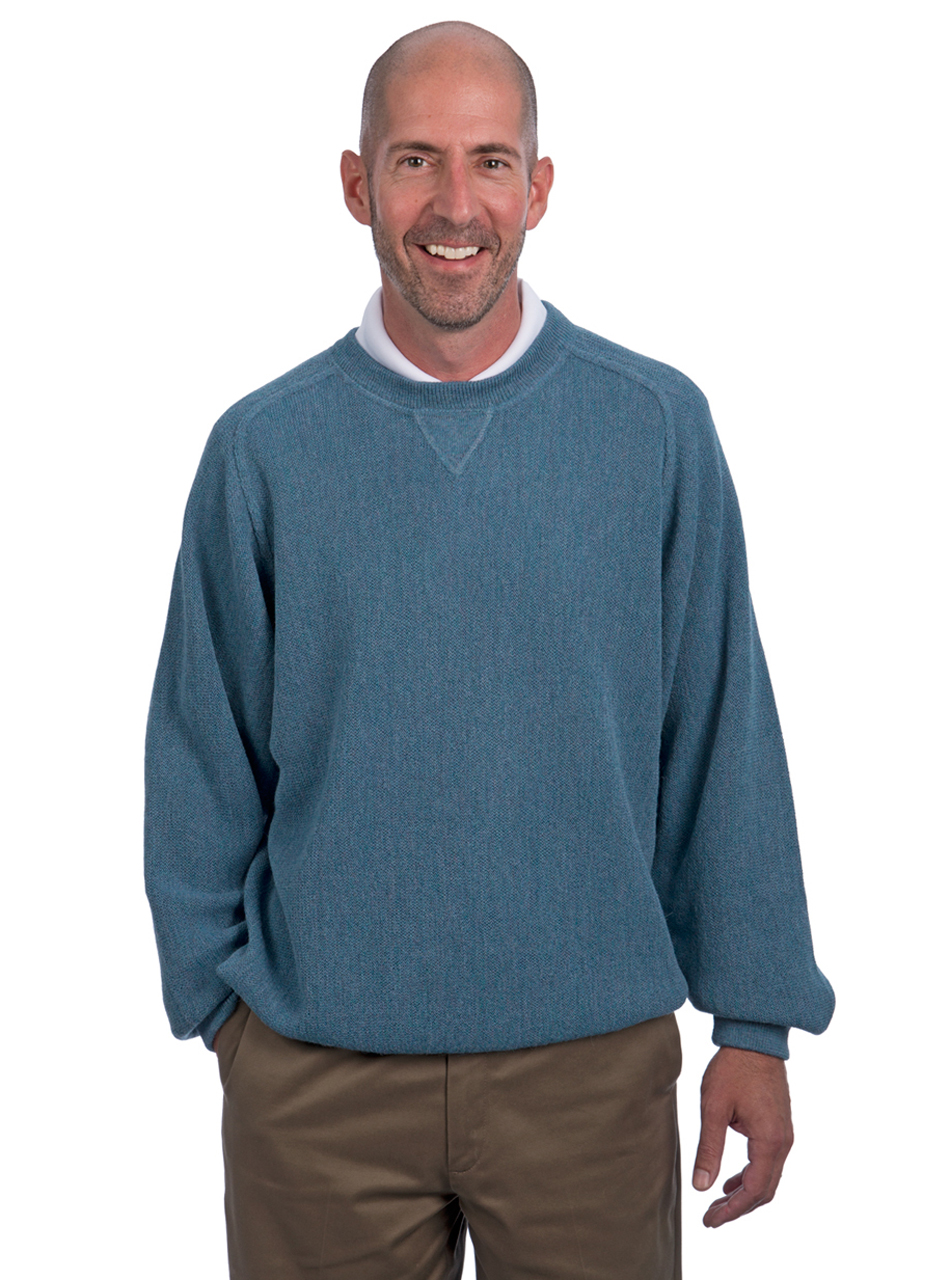 Alpaca Sweatshirt & Golf Sweater - Front