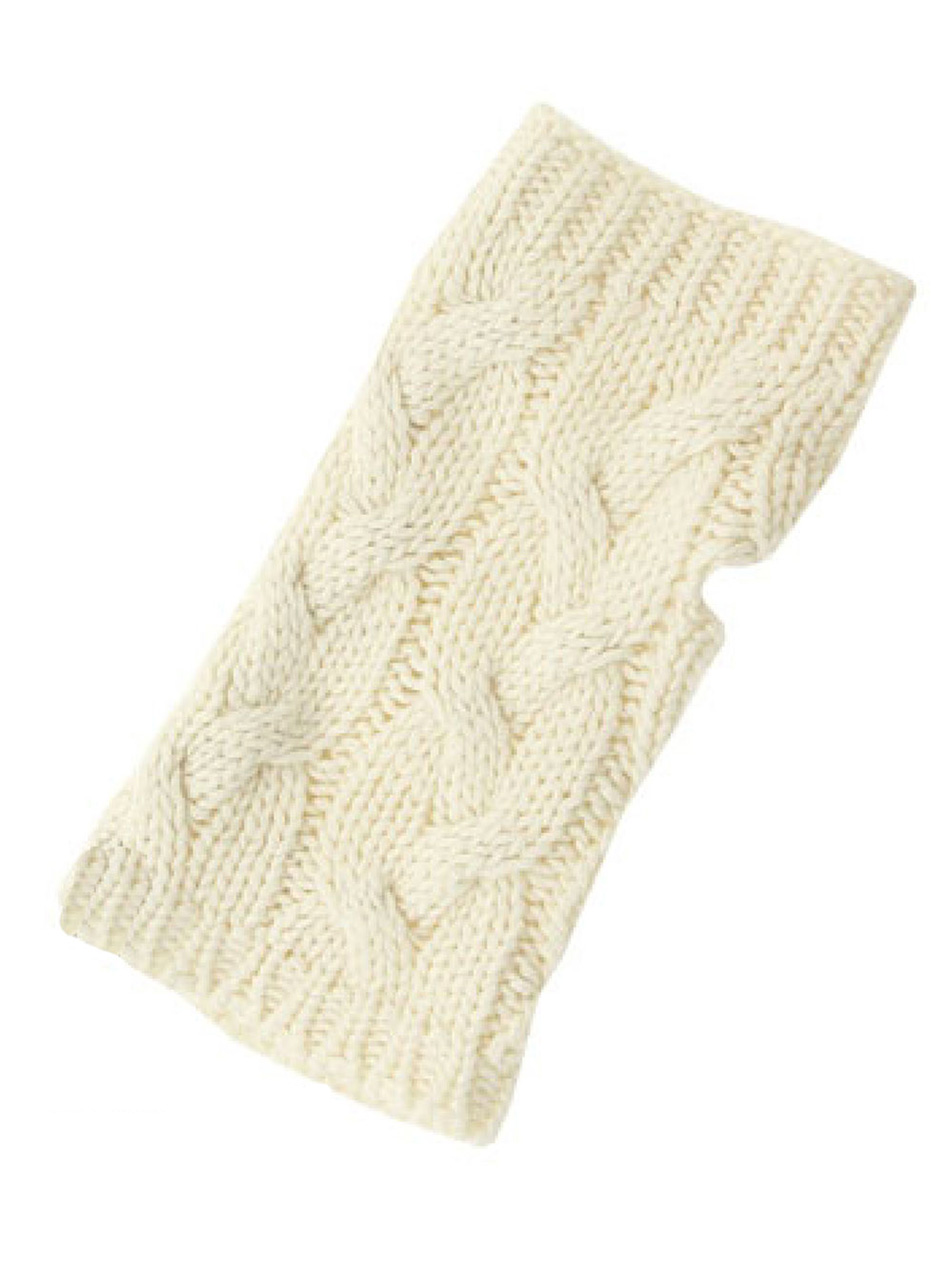Alpaca Cable Cozy Duo - Texting Glove
