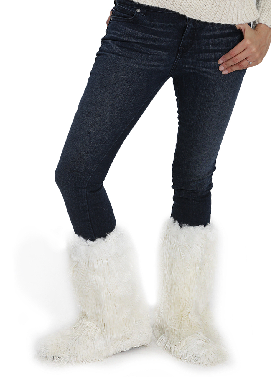 Apres Ski Suri Alpaca Fur Boots Thumbnail