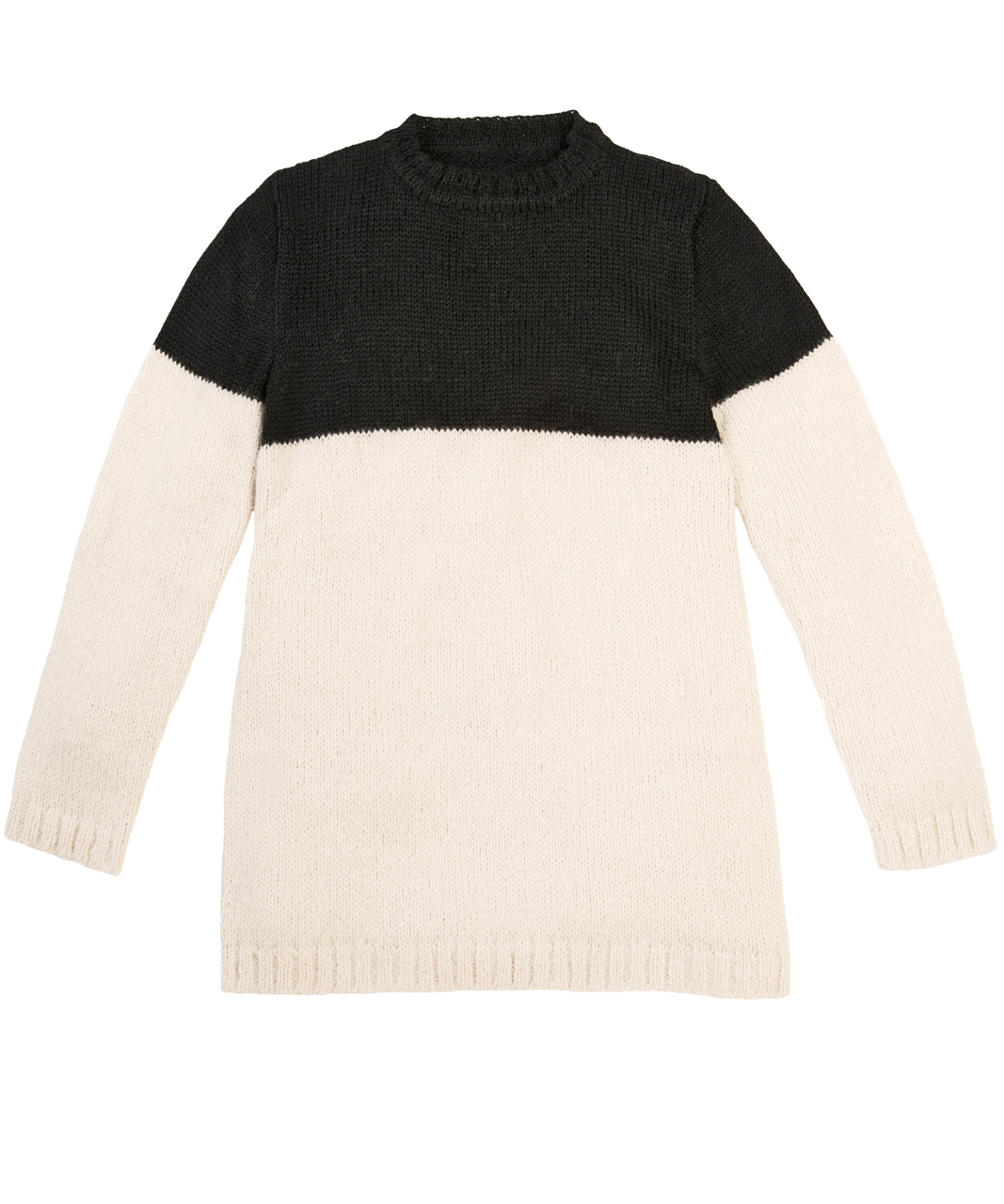 Edie Colorblock Pullover  Front Flat