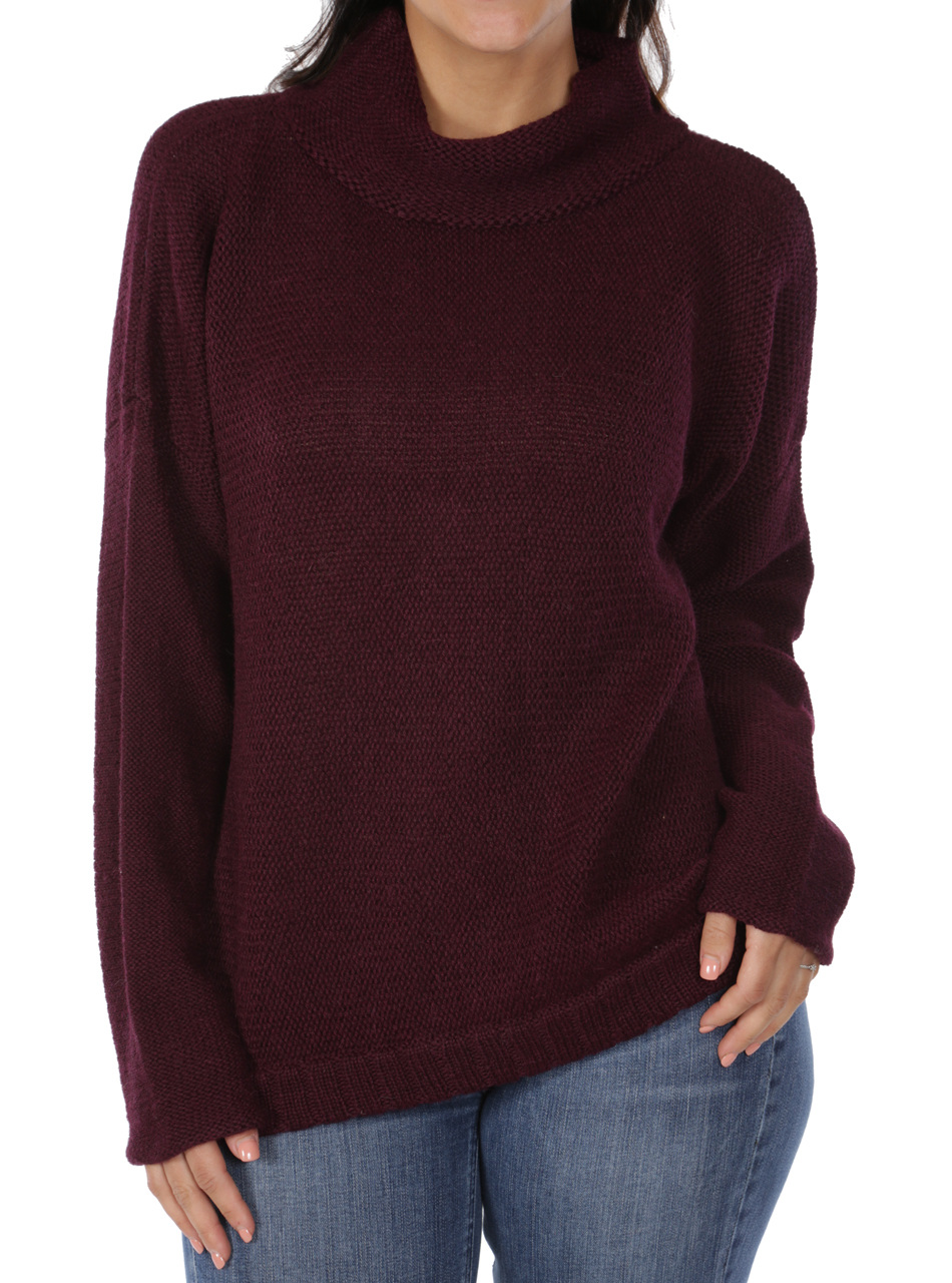 Women's Oversized Drop Shoulder Dream Sweater Detail