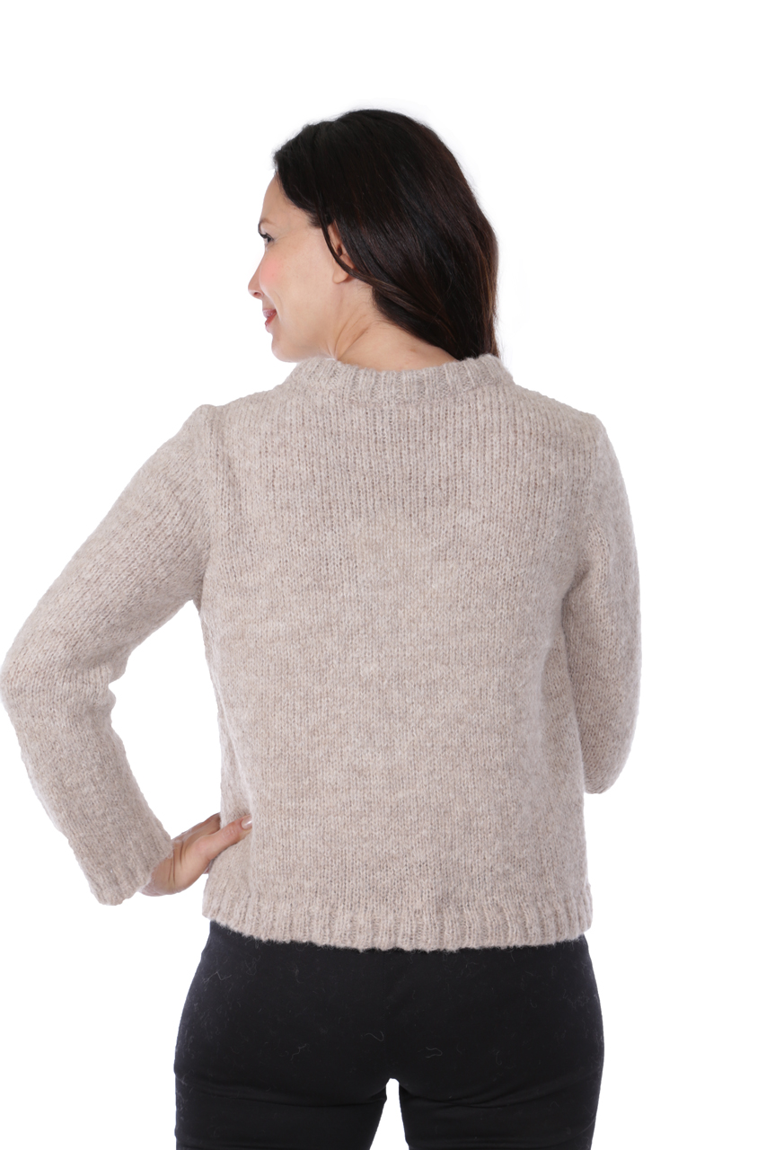 Hepburn Pullover  Back on Model