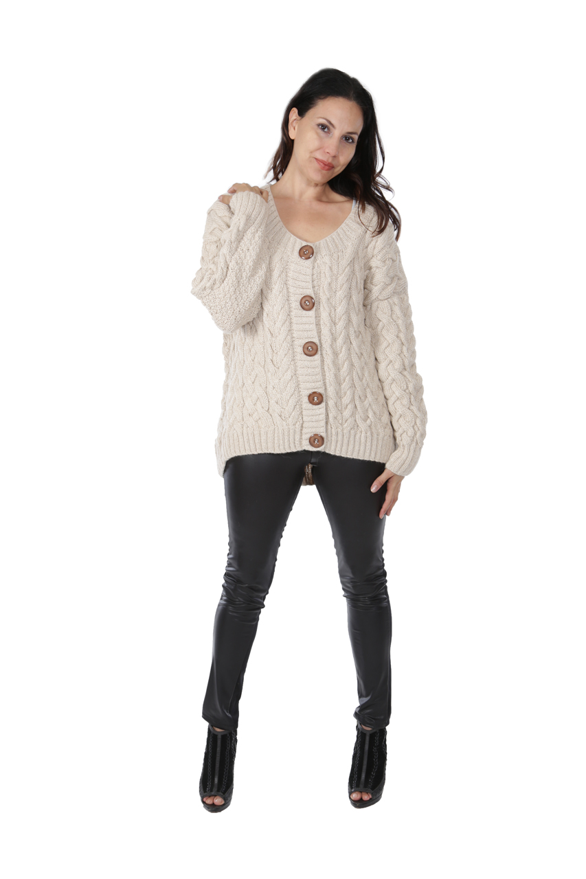 Alexa Cable Cardigan Full Size