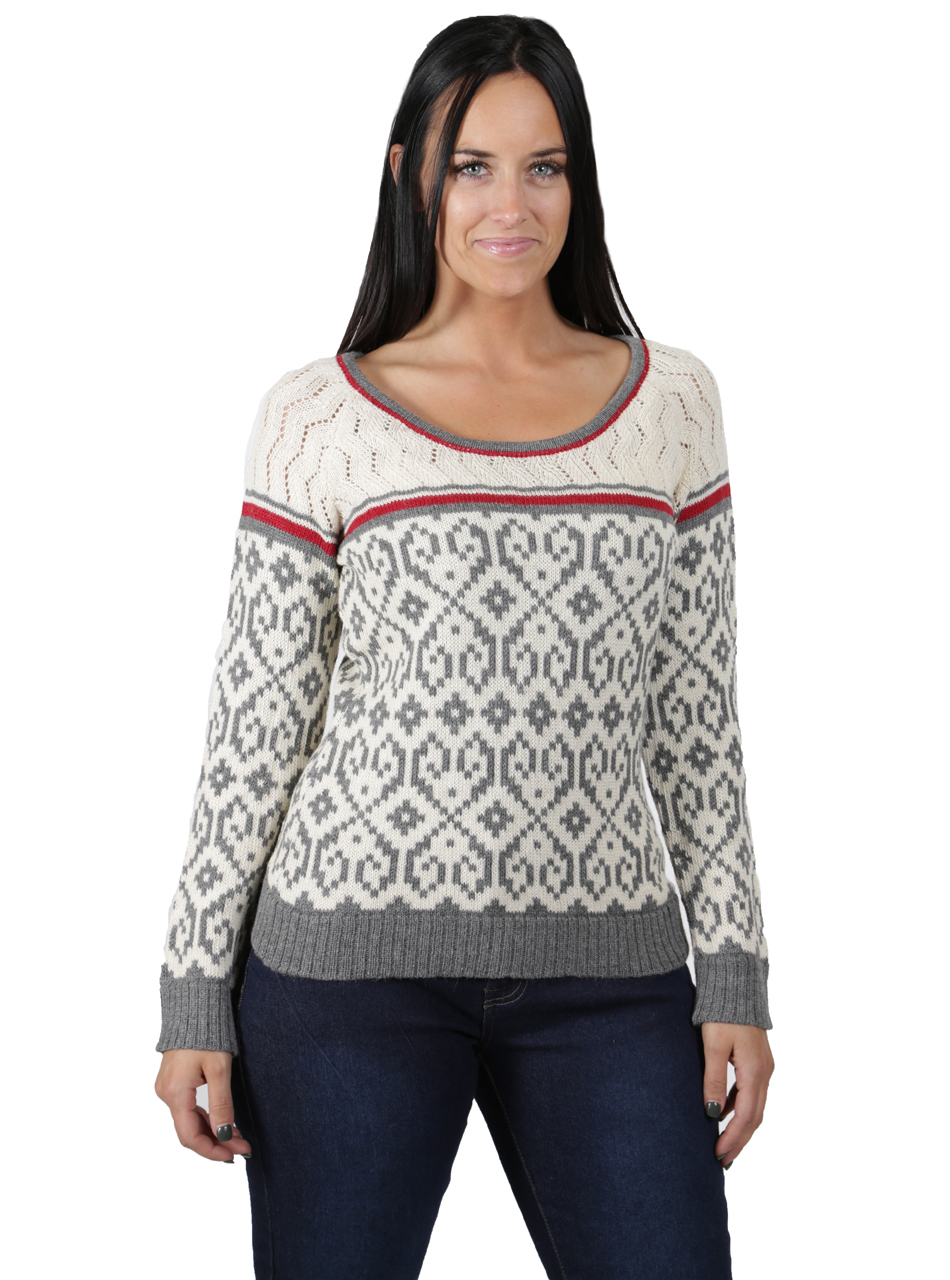 Sweetheart Baby Alpaca Pullover Front