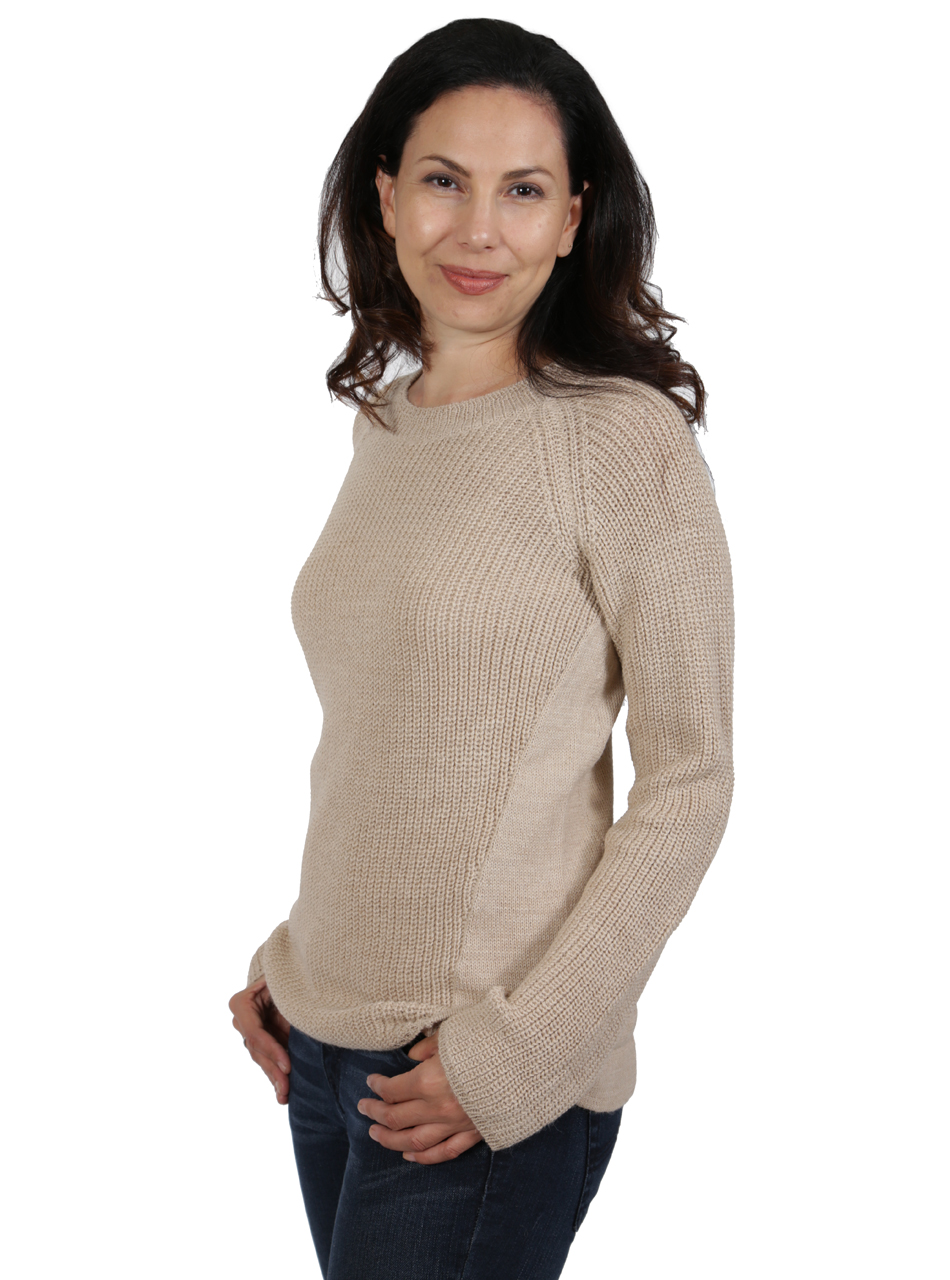 Melody Pullover Tunic Sweater Side