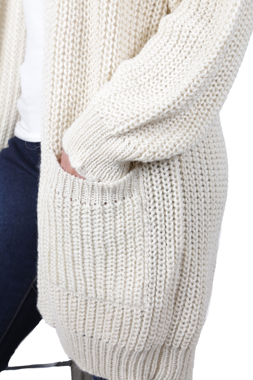 Forever Cardigan with Pockets Detail