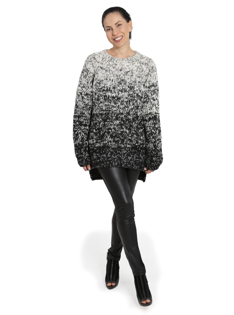 Kourtney Ombre Sweater Full Size