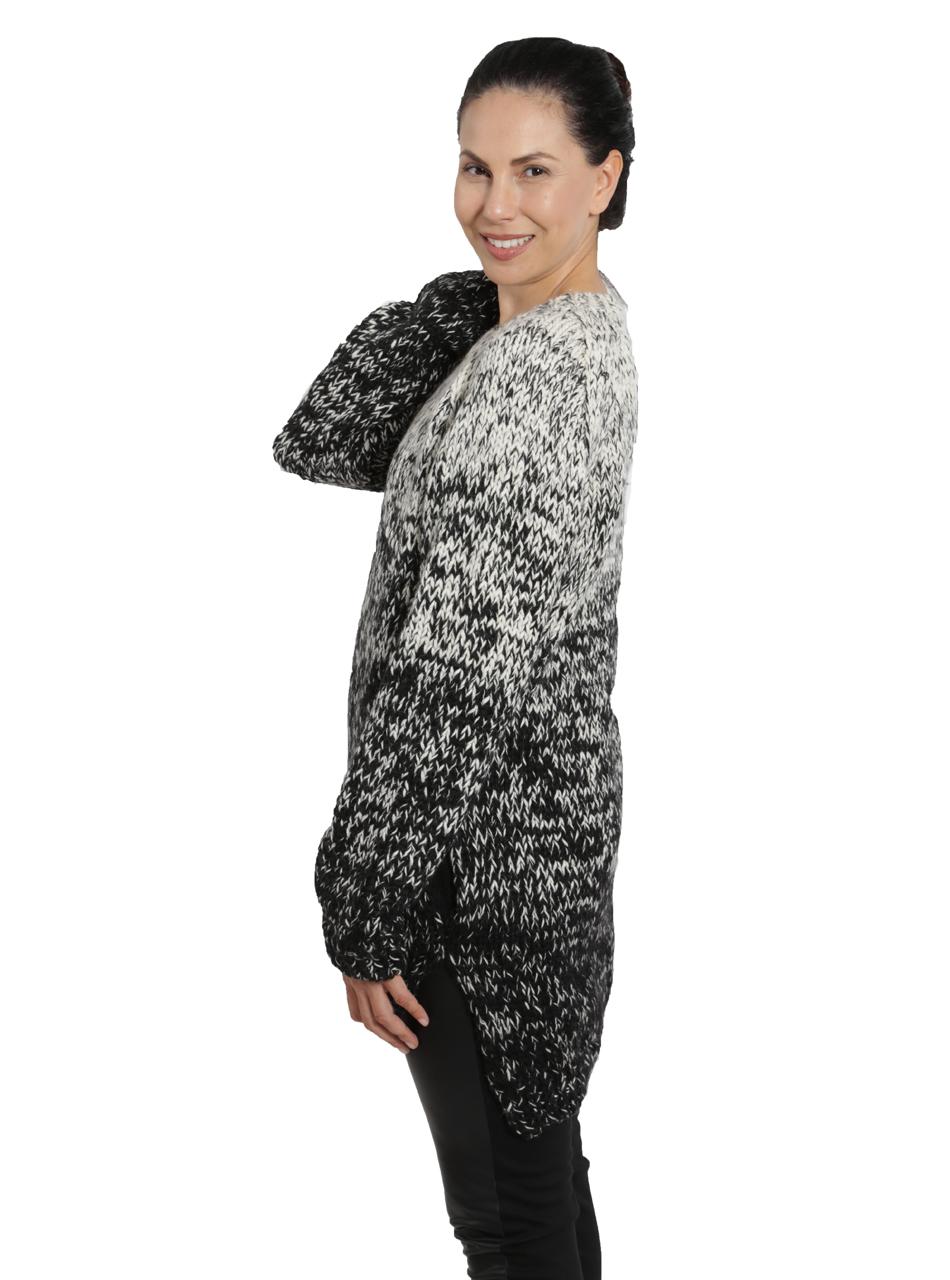 Kourtney Ombre Sweater Side on Model